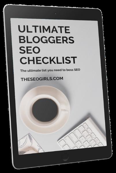 Ultimate bloggers SEO checklist